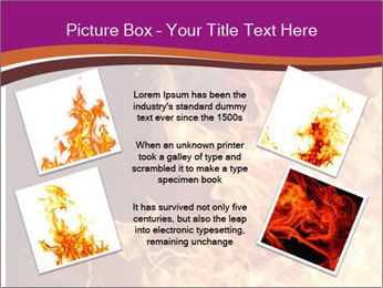 Fire flames PowerPoint Templates - Slide 24