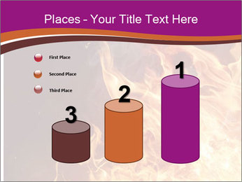 Fire flames PowerPoint Templates - Slide 65