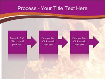 Fire flames PowerPoint Templates - Slide 88