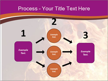 Fire flames PowerPoint Templates - Slide 92