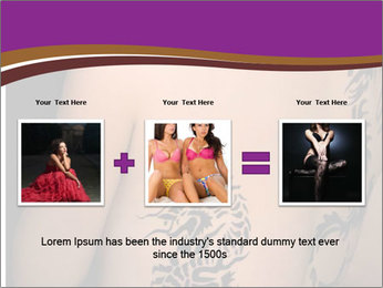 Sexy topless girl PowerPoint Template - Slide 22