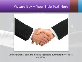Business handshake against PowerPoint Templates - Slide 15