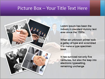 Business handshake against PowerPoint Templates - Slide 23