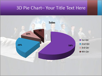 Business handshake against PowerPoint Templates - Slide 35