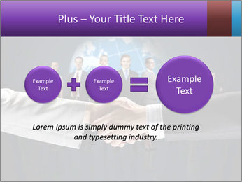 Business handshake against PowerPoint Templates - Slide 75