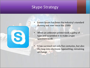 Business handshake against PowerPoint Templates - Slide 8