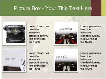 Vintage Vector Typewriter PowerPoint Template - Slide 14