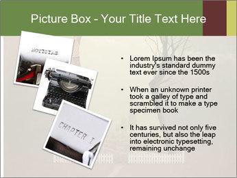 Vintage Vector Typewriter PowerPoint Template - Slide 17