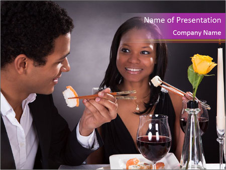 Romantic Couple PowerPoint Templates