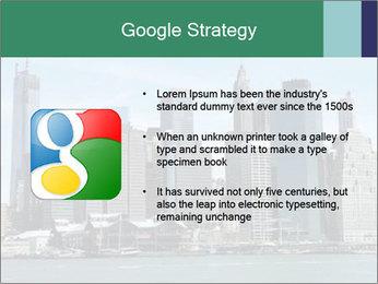 Manhattan skyline PowerPoint Template - Slide 10
