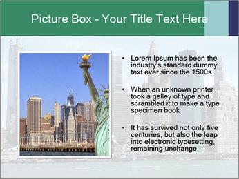 Manhattan skyline PowerPoint Template - Slide 13