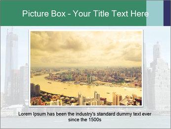 Manhattan skyline PowerPoint Template - Slide 15