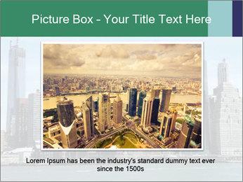 Manhattan skyline PowerPoint Template - Slide 16