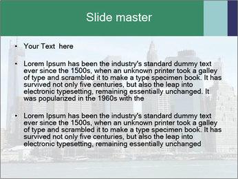 Manhattan skyline PowerPoint Template - Slide 2