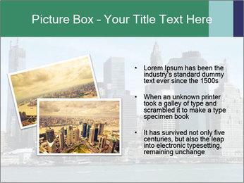 Manhattan skyline PowerPoint Template - Slide 20