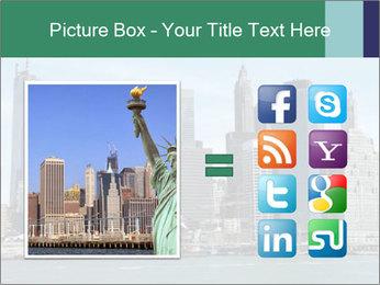 Manhattan skyline PowerPoint Template - Slide 21