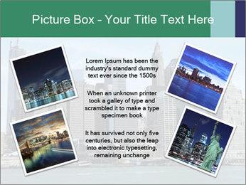 Manhattan skyline PowerPoint Template - Slide 24