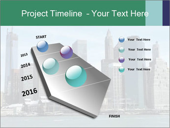 Manhattan skyline PowerPoint Template - Slide 26