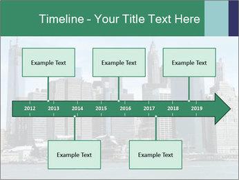 Manhattan skyline PowerPoint Template - Slide 28