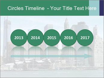 Manhattan skyline PowerPoint Template - Slide 29