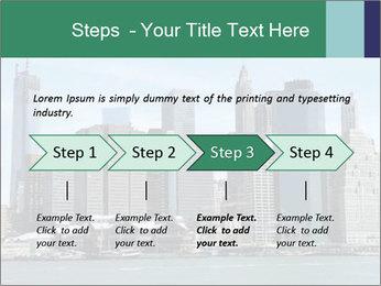 Manhattan skyline PowerPoint Template - Slide 4