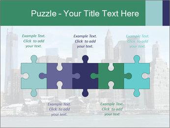 Manhattan skyline PowerPoint Template - Slide 41