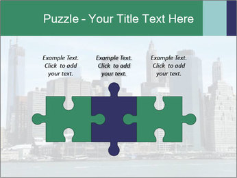 Manhattan skyline PowerPoint Template - Slide 42