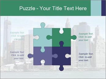 Manhattan skyline PowerPoint Template - Slide 43