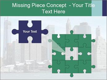Manhattan skyline PowerPoint Template - Slide 45