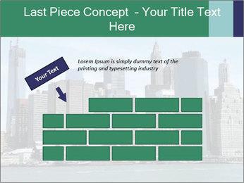 Manhattan skyline PowerPoint Template - Slide 46