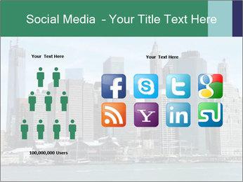 Manhattan skyline PowerPoint Template - Slide 5