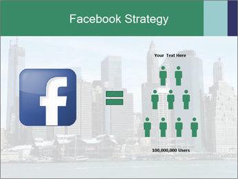Manhattan skyline PowerPoint Template - Slide 7