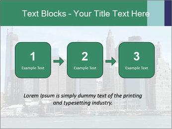 Manhattan skyline PowerPoint Template - Slide 71
