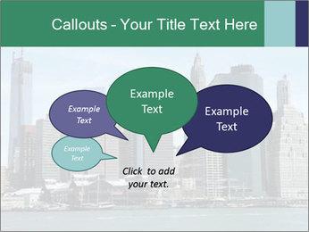 Manhattan skyline PowerPoint Template - Slide 73