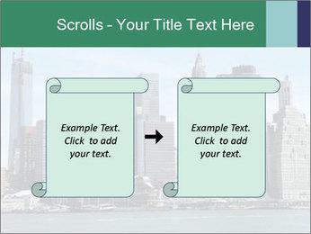 Manhattan skyline PowerPoint Template - Slide 74