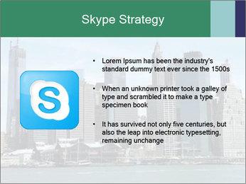 Manhattan skyline PowerPoint Template - Slide 8