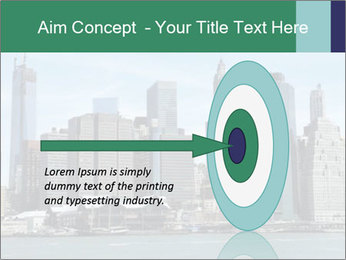 Manhattan skyline PowerPoint Template - Slide 83