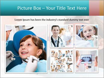 Girl with a doctor PowerPoint Template - Slide 19