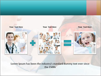 Girl with a doctor PowerPoint Template - Slide 22