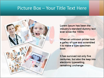 Girl with a doctor PowerPoint Template - Slide 23