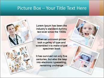 Girl with a doctor PowerPoint Template - Slide 24