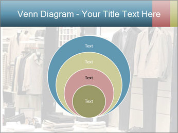 Fashion clothing on hangers PowerPoint Template - Slide 34
