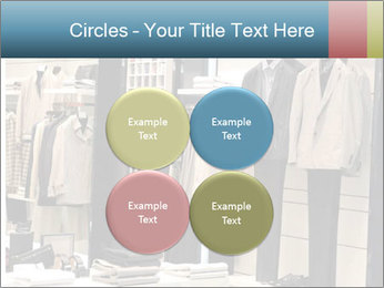 Fashion clothing on hangers PowerPoint Templates - Slide 38