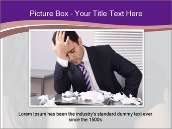 Woman with depression PowerPoint Templates - Slide 15