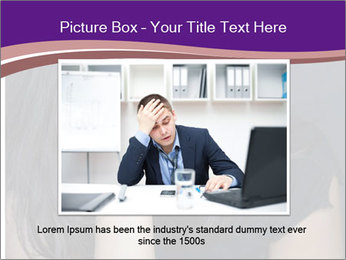 Woman with depression PowerPoint Templates - Slide 16