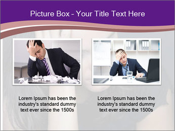 Woman with depression PowerPoint Templates - Slide 18