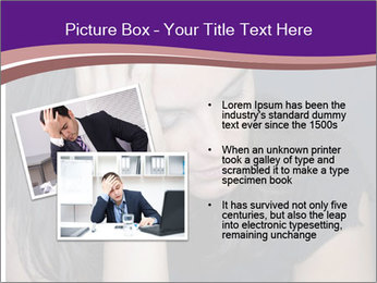 Woman with depression PowerPoint Templates - Slide 20