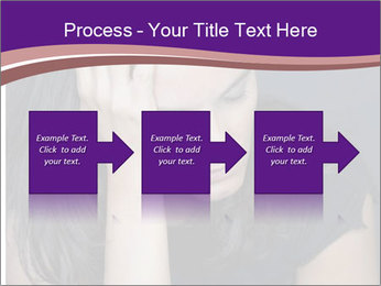 Woman with depression PowerPoint Templates - Slide 88