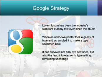 Oil and gas processing plant PowerPoint Template - Slide 10