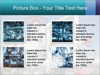 Oil and gas processing plant PowerPoint Template - Slide 14